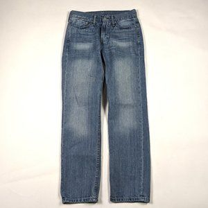 Levi's 514 Straight Fit 29 X 30 Medium Wash Jeans